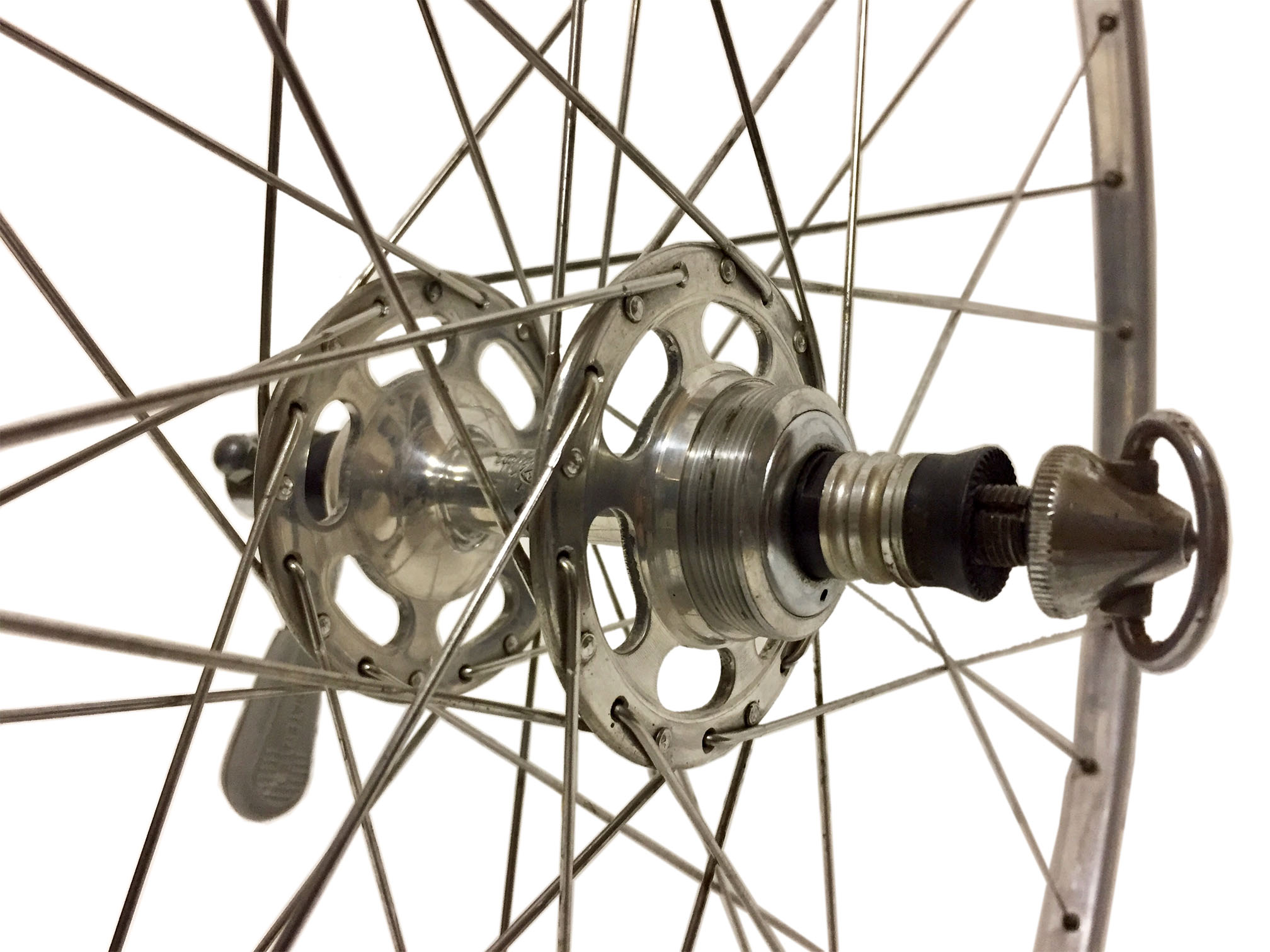 Vintage Wheelset Fiamme Campagnolo Record 1st Generation